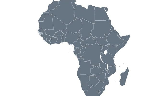 Shape Of Africa Map.New Opportunities Ahead For Africa As The New World Order Takes