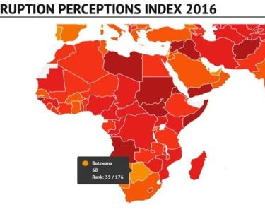 SSA remains near bottom of the global corruption index
