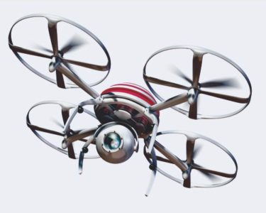 Pay-as-you fly drone cover ready for take-off