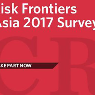 Calling all risk managers: share your insight in our Risk Frontiers Asia survey