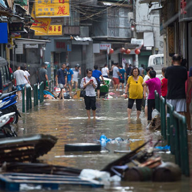 China, Macau and Hong Kong battered by Typhoon Hato