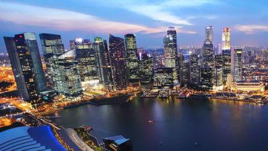 Singapore-skyline-night