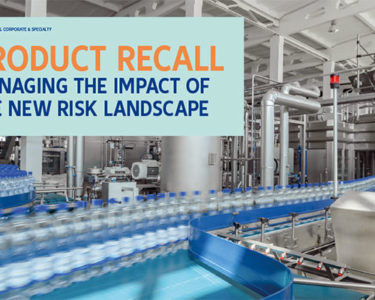 Product recalls on rise, risk managers warned