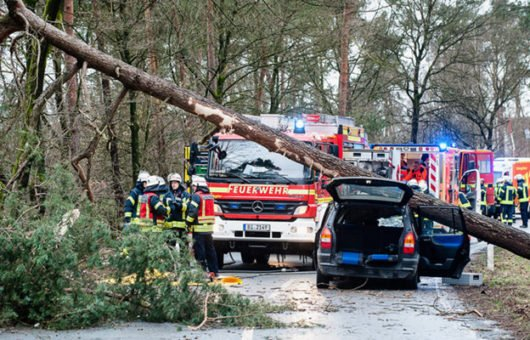 H1 £20bn insured disaster losses almost half the ten-year average, finds Swiss Re