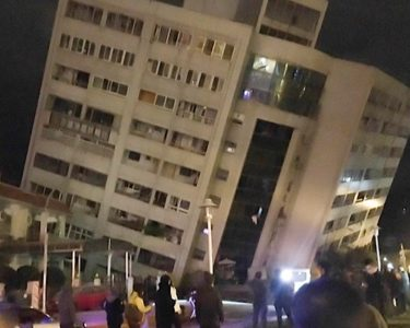 Taiwan earthquake collapses buildings and injures hundreds