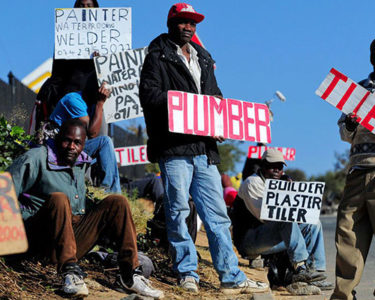 Unemployment tops risk list for South Africa