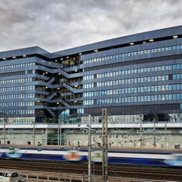 AXA businesses move to single eco building in France