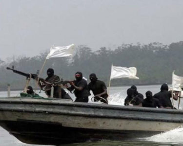 Nigerian pirates kidnapped 35 seafarers so far this year in the Gulf of Guinea