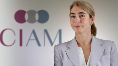 CIAM president Catherine Berjal
