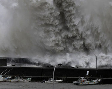 Insured losses from Typhoon Jebi estimated between $2.3bn and $4.5bn