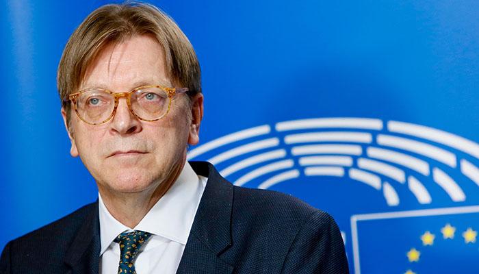 Guy Verhofstadt, Brexit coordinator, European Parliament. Credit: European Parliament