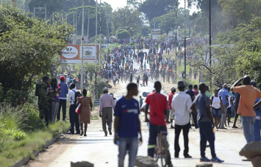 150% hike in fuel costs sparks protests across Zimbabwe