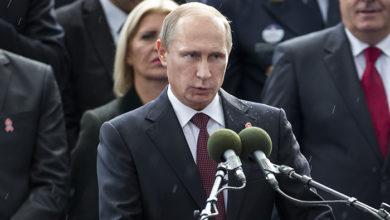 Russian president Vladimir Putin Credit: iStock/dicus63