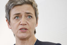 Margrethe Vestager, EC commissioner in charge of competition policy Credit: Friends of Europe from Brussels, Belgium [CC BY 2.0 (https://creativecommons.org/licenses/by/2.0)]