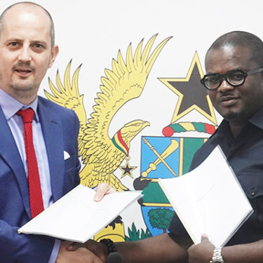 Ghana signs up to ATI in €16m deal