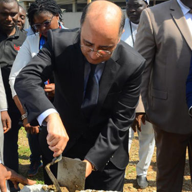 Africa Re lays foundation of new head office in Abuja