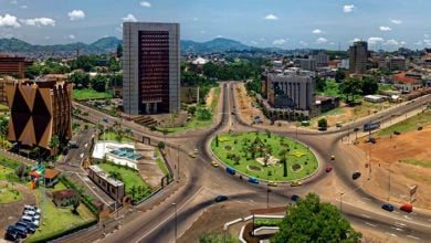 Yaounde, capital city of Cameroon