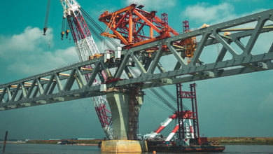 Padma Bridge is a large progress of Bangladesh.