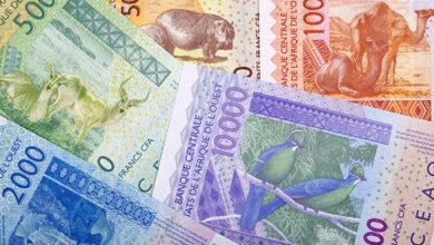 West African francs. Credit: iStock/johan10