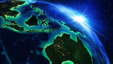 3d rendering, Australia, Indonesia.