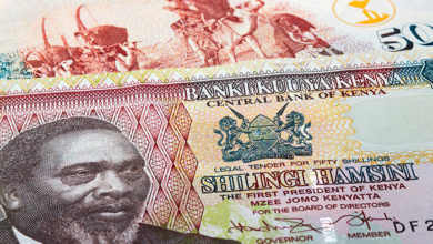 banknotes and currency of Kenya