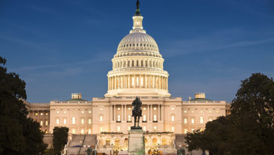 United States Capitol and the Senate Building, Washington DC, US. Credit: Zurich/Getty Images