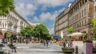 Baden-Baden, Germany, May 20, 2015 - In the city of Baden-Baden.