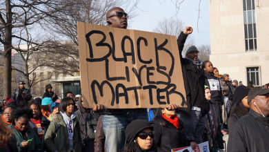 Black Lives Matter protest, Washington DC. Credit: iStock/Coast-to-Coast