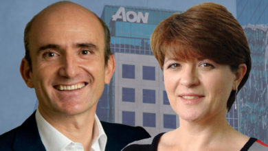 Eduardo Dávila and Julie Page, Aon