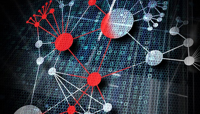 virus infection is spreading out in a network