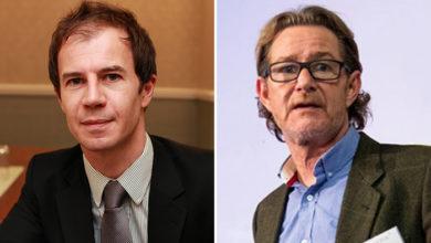 Nicholas Pratt, Commercial Risk Europe – UK editor (left); and Adrian Ladbury, Commercial Risk editorial director