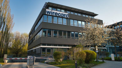 Aschheim (München), Bavaria / Germany - April 10, 2020: Wirecard headquarters close to Munich; a global internet technology and financial services company listed in the German stock exchange (DAX)