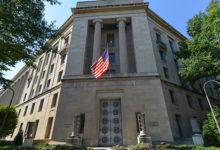 US Department of Justice building, Washington, DC. Credit: Shutterstock/Orhan Cam
