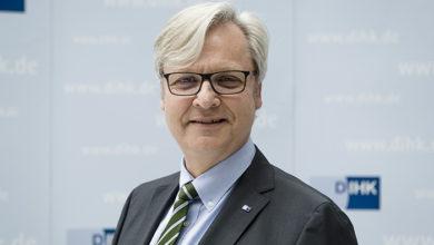 Dr Martin Wansleben, DIHK. Credit: DIHK