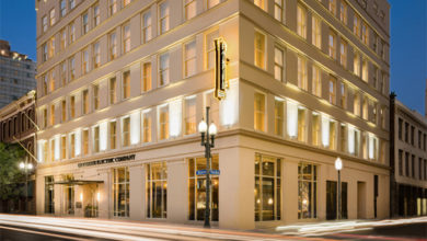 Fairfield Inn & Suites New Orleans Downtown. Credit: New Castle Hotels & Resorts