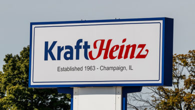 Champaign - Circa August 2019: Kraft Heinz Company manufacturing plant. Kraft makes its Macaroni and Cheese, Miracle Whip and Kraft mayonnaise here I