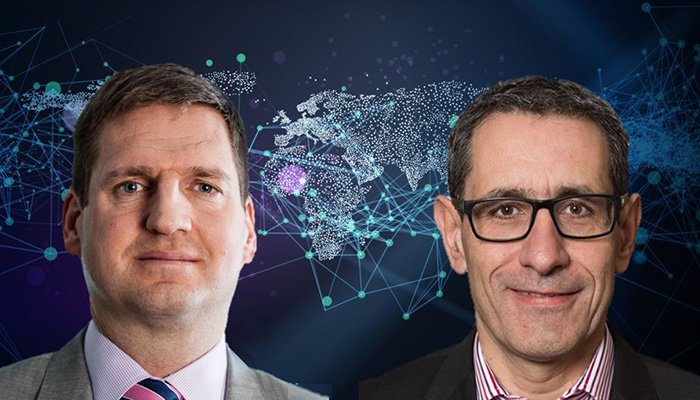 Ian Long (left) and Reto Collenberg, Swiss Re Corporate Solutions