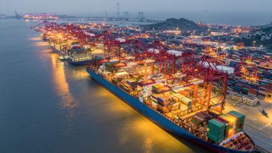 Port of Shanghai. Credit: Shutterstock/fuyu liu