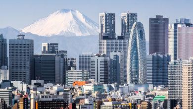 Tokyo,Shinjuku,Building,And,Mt.,Fuji,At,Behind