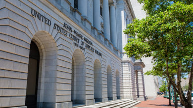 US Court of Appeals for the Fifth Circuit, New Orleans. Credit: Shutterstock/William A Morgan