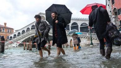 Flooding in Venice, Italy. Credit: Shutterstock/Ihor Serdyukov