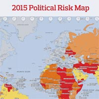 Low oil price greatest threat to political stability in 2015 finds iraq libya russia and venezuela is the number one political risk facing emerging market investors according to aons 2015 political risk map sciox Gallery
