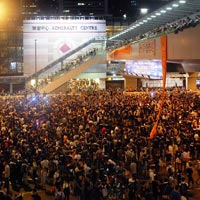 Political risk rises in Hong Kong but experts do not foresee contagion to China